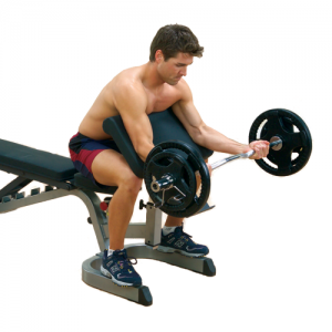 Body-Solid Preacher Curl Station Attachment [GPCA1]