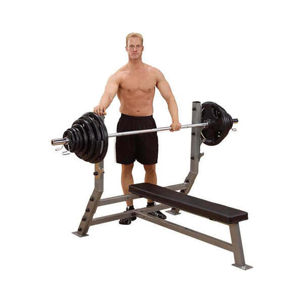 Body-Solid Pro Clubline Flat Olympic Bench [SFB349G]