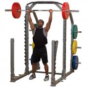 Body-Solid Pro Clubline Multi Squat Rack SMR1000 - Shoulder Press