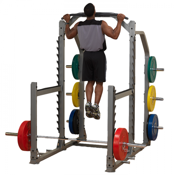 Body-Solid Pro Clubline Multi Squat Rack SMR1000 - Chin Ups