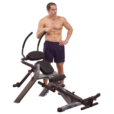Body Solid Semi-Recumbent Ab Bench GAB300
