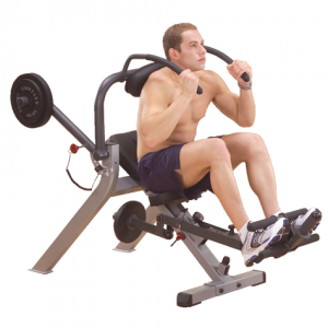 Body Solid Semi-Recumbent Ab Bench GAB300 - demo