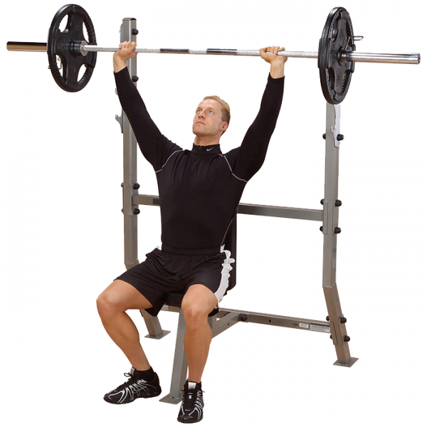 Body-Solid Shoulder Press Olympic Bench [SPB368G]