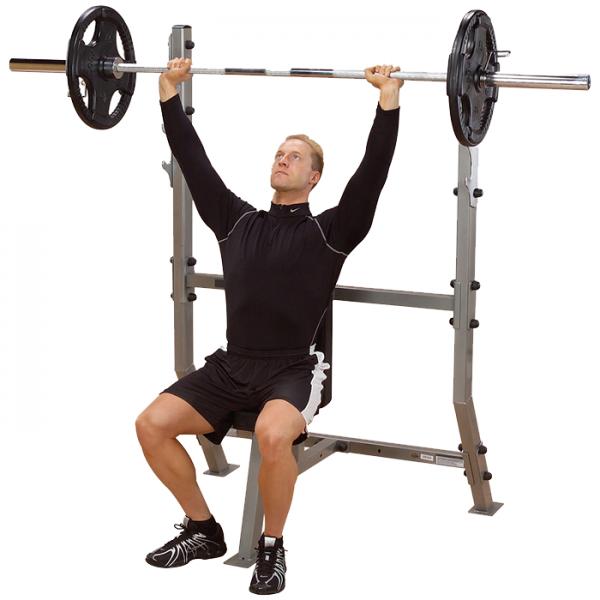 Body-Solid Shoulder Press Olympic Bench [SPB368G]
