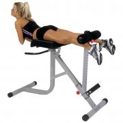 Bodycraft 45-90 Hyperextension Oblique Roman Chair F670 - reverse crunch