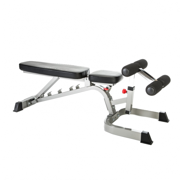 Bodycraft Deluxe Flat / Incline / Decline Workout Bench [F602]