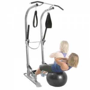 Bodycraft Life Tree Training Tower [T3] - stability ball sit-ups