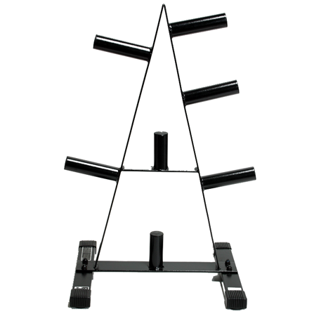 Cap Barbell 2 Inch Olympic Weight Tree (Black) [RK-2A]