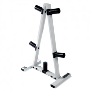 Cap Barbell 2 Inch Olympic Weight Tree (Black & White) [RK-2B]