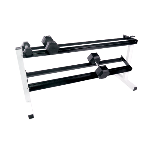 Cap Barbell 50 Inch Two Tier Dumbbell Rack [RK-3]