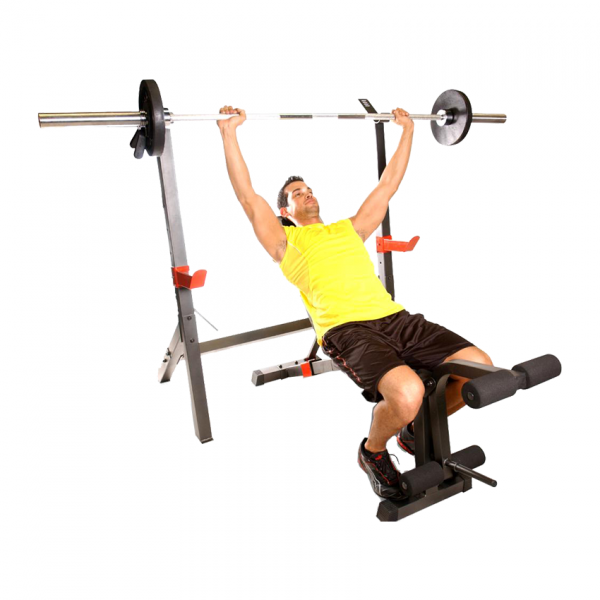 Cap Barbell Olympic Weight Bench with Squat Rack [FM-7105] - incline bench press