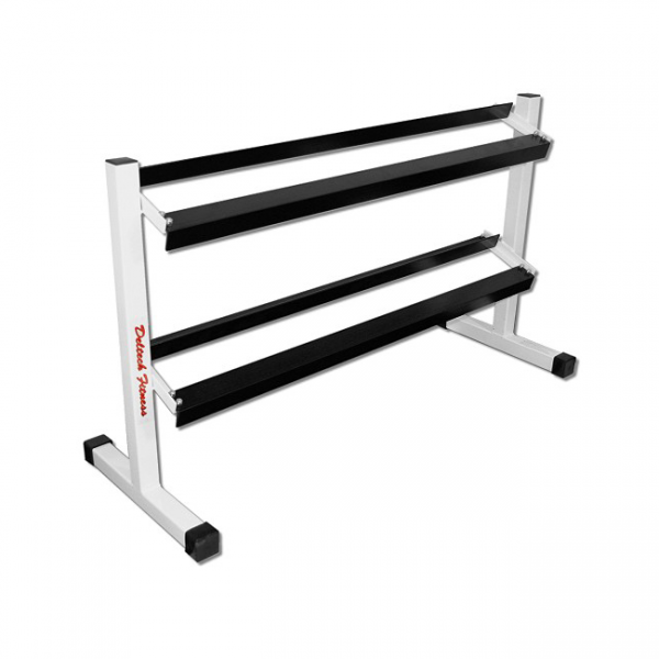 Deltech Fitness 54 Inch 2 Tier Dumbbell Rack [DF513]