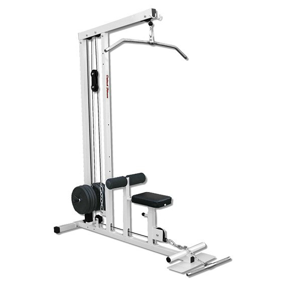 Deltech Fitness Plate Loaded Lat Machine Df906 Incredibody