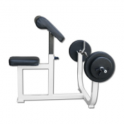 Deltech Fitness Preacher Curl Bench [DF3000] - side view