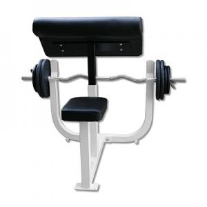 Deltech Fitness Preacher Curl Bench [DF3000] - rear view