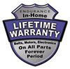 Endurance In-Home Lifetime Warranty