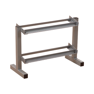 Powerline 28 Inch Wide 2 Tier Dumbbell Rack [PDR282X]
