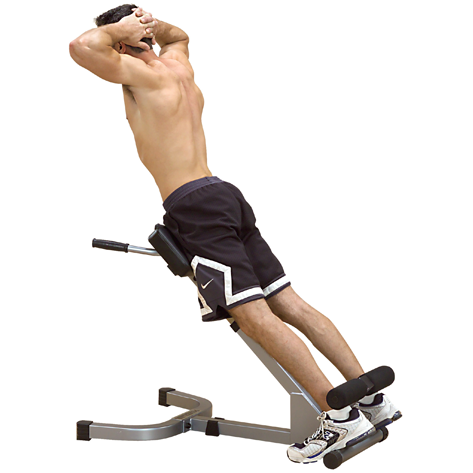 Powerline 45 Degree Hyperextension PHYP200X