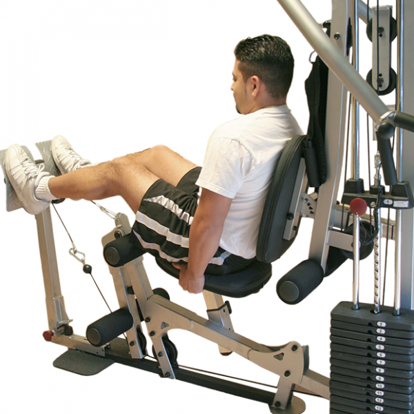 Powerline Leg Press Attachment for BSG10X [BSGLPX] - demo
