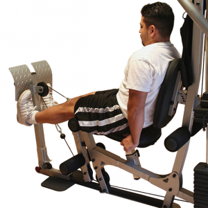 Powerline Leg Press Attachment for BSG10X [BSGLPX] - train quad muscle