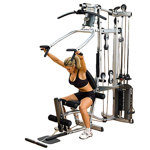 Powerline P2X Home Gym - shoulder press