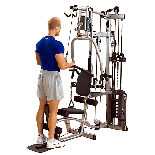 Powerline P2X Home Gym - triceps pushdown