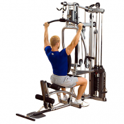 Powerline P2X Home Gym - lat pulldown