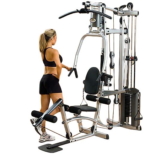 Powerline P2X Home Gym - leg curl