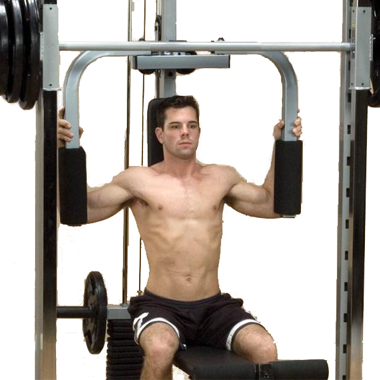 Powerline Pec Deck Attachment for Smith Machine [PPA13X]