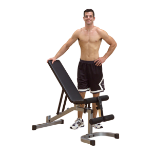 Powerline Flat / Incline / Decline Workout Bench [PFID130X]