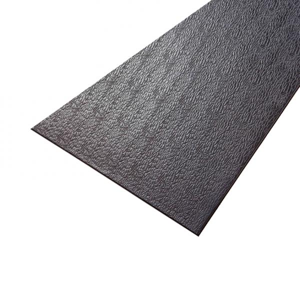 Supermats 3x6.5 Foot Solid PVC Mat for Treadmills [14GS]