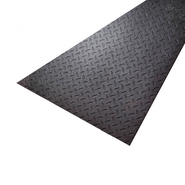 SuperMats 4x6x3/8 Rubber Floor Mat [0638E]