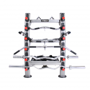 TKO Accessory Rack [848ACR-B] - front view
