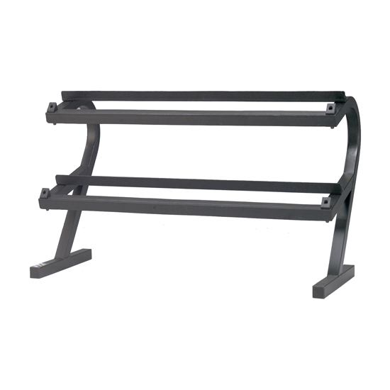 Troy 2 Tier Horizontal Dumbbell Rack [T-DR]