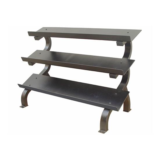 Troy 3 Tier Horizontal Dumbbell Shelf Rack [GTDR-3]