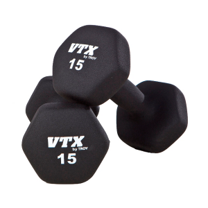 Troy VTX Black Neoprene Aerobic Dumbbells [GTD]