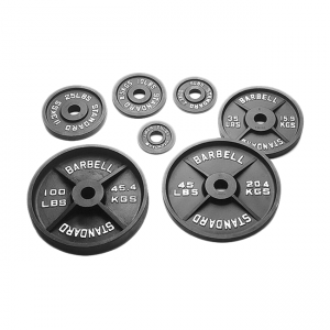 USA Sports Olympic Weight Plates (Black) [BO-USA]