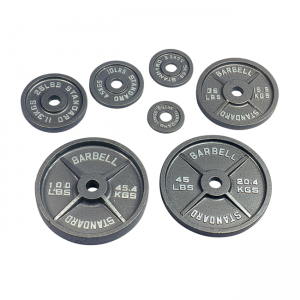 USA Sports Olympic Weight Plates (Gray) [O-USA]