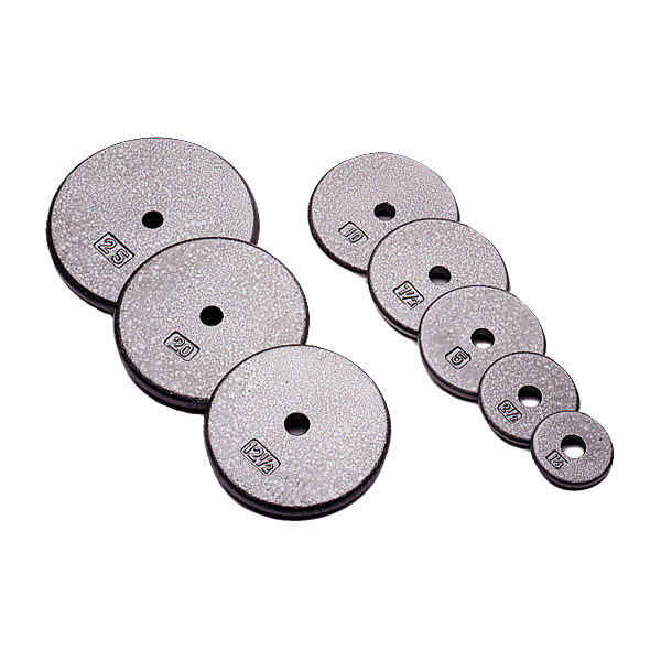 USA Sports Standard One Inch Size Weight Plates (Gray) [R-USA]