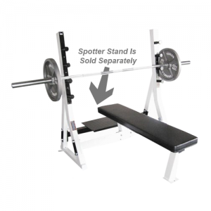 Yukon Fitness Commercial Flat Olympic Bench [COM-CFB]