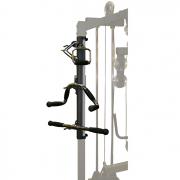 Body-Solid Gym Mounted Accessory Rack [GRACK]