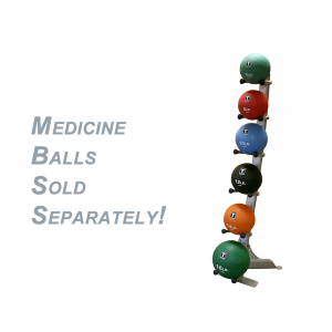 Body-Solid Medicine Ball Rack [GMR10]