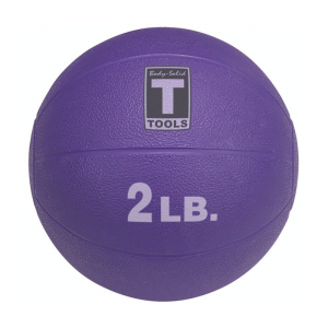 Body-Solid Medicine Balls (2-lb) Purple [BSTMB]