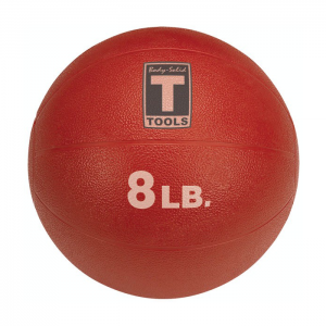 Body-Solid Medicine Balls (8 lb) Red [BSTMB]