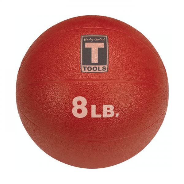 Body-Solid Medicine Balls (8 lb) Red [BSTMB]