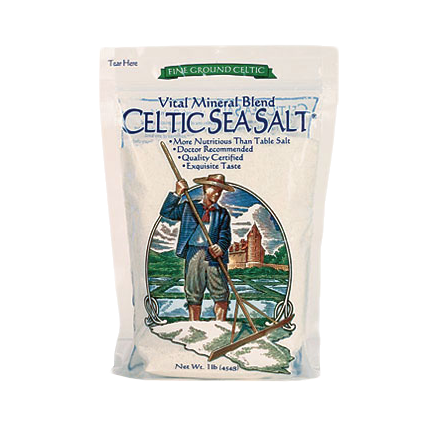 Celtic Sea Salt Fine Ground Vital Mineral Blend (1 lb)