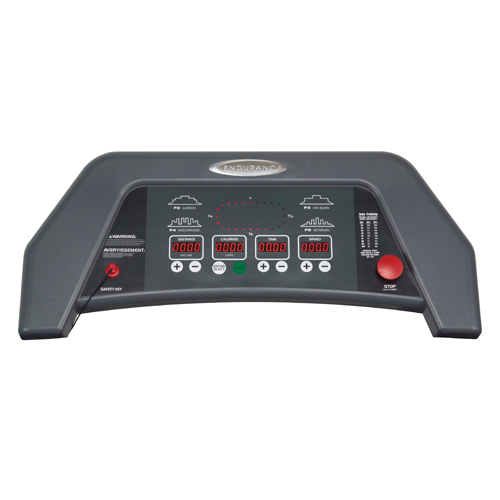 Endurance TF3I Folding Treadmill - digital console