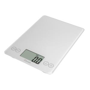 Escali Arti Glass Digital Scale (Crisp White) [157W]
