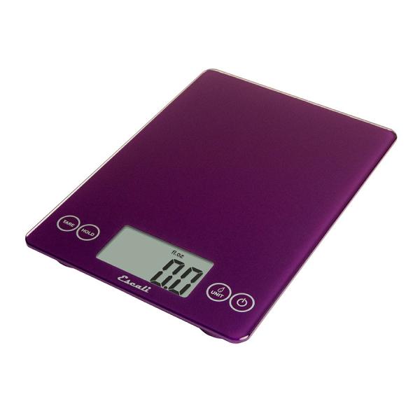Escali Arti Glass Digital Scale (Deep Purple) [157DP]
