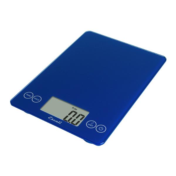 Escali Arti Glass Digital Scale (Electric Blue) [157EB]